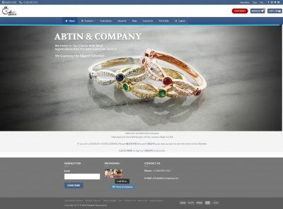 فروشگاه آبتین کمپانی فروشگاه آبتین کمپانی abtincompany 1 400x296  نمونه طراحی وب سایت abtincompany 1 400x296